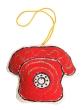 """Елочная игрушка """"Телефон"""" Авторская работа для Ваших друзей и близких! артикул 13729f."""